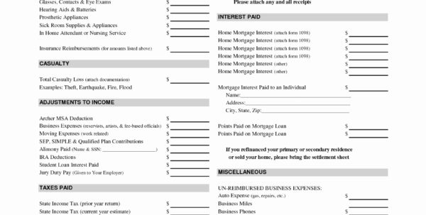 Personal Income Tax Spreadsheet Within Expense Sheet For Taxes Theminecraftserver Best Resume Templates To