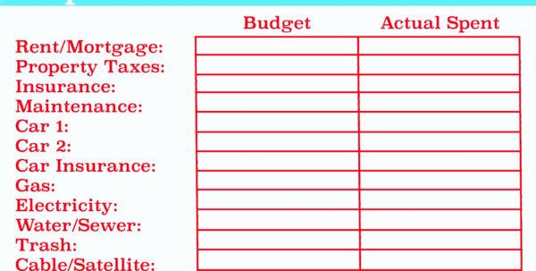 Personal Management Merit Badge Budget Spreadsheet For Personal Management Merit Badge Excel Spreadsheet  The Spreadsheet