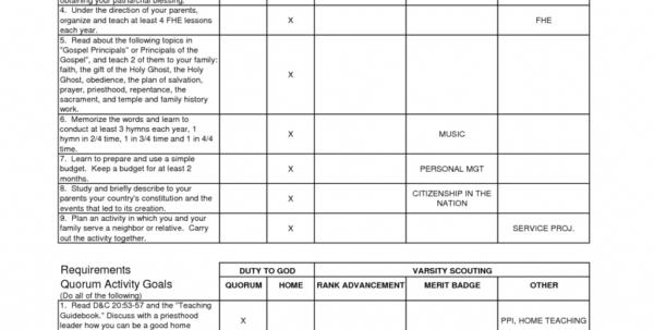 Personal Management Merit Badge Budget Spreadsheet Regarding Example Of Personal Management Merit Badge Budget Spreadsheet Boyt