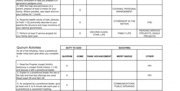 Personal Management Merit Badge Excel Spreadsheet With Regard To Example Of Personal Management Merit Badge Budget Spreadsheet
