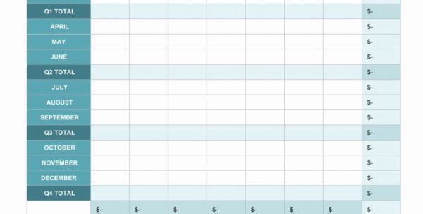 Personal Monthly Budget Spreadsheet With Example Of Personal Monthly Budget Spreadsheet How To Make For