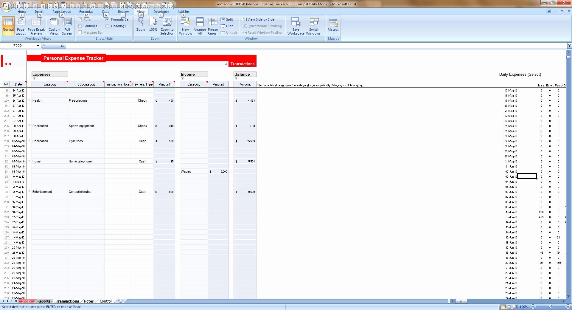 Personal Spending Tracker Spreadsheet In Expense Tracker Spreadsheet Debt Stackingl Awesome Europeipsleep Of