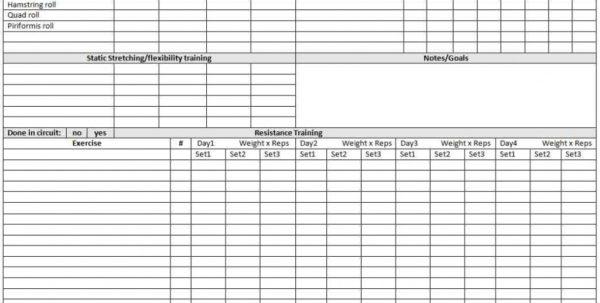 Personal Trainer Spreadsheet Regarding Personal Trainer Client Tracking Homebiz4U2Profit Com Spreadsheet
