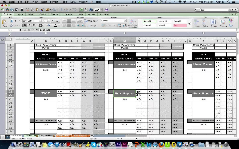 Personal Trainer Spreadsheet Template Regarding Excel Personal Training Templates Excel Training Designs – Nurul Amal