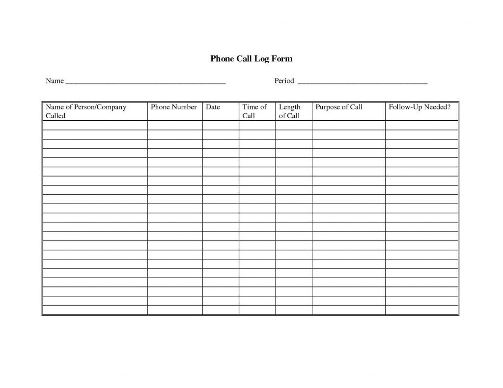 Phone Call Tracking Spreadsheet Throughout Sales Call Reports Templates Free Calls Tracking Template New Luxury