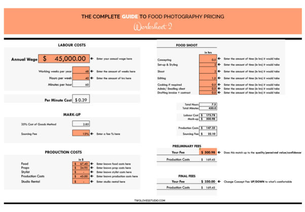 Photography Pricing Spreadsheet Throughout Spreadsheet Examples Photography Pricing Excel Photographers Luxury