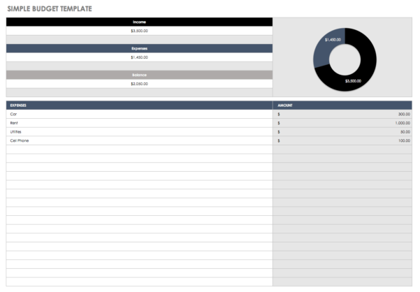 Photography Workflow Spreadsheet In 32 Free Excel Spreadsheet Templates  Smartsheet