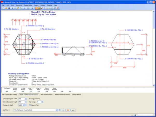 Pile Cap Design Spreadsheet Throughout Masterseries Allyson Lawless And Associates Pty Ltd Pile Cap Design