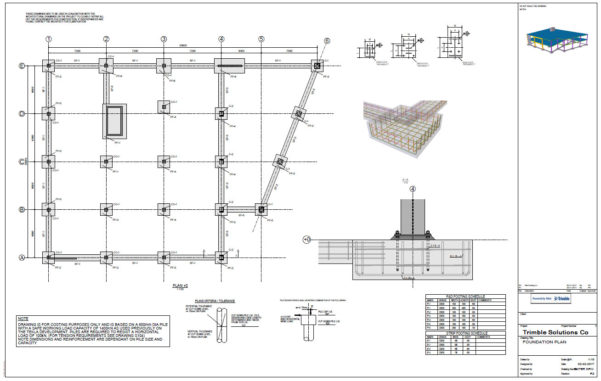 Piling Mat Design Spreadsheet Throughout General Design  Tekla 2017I