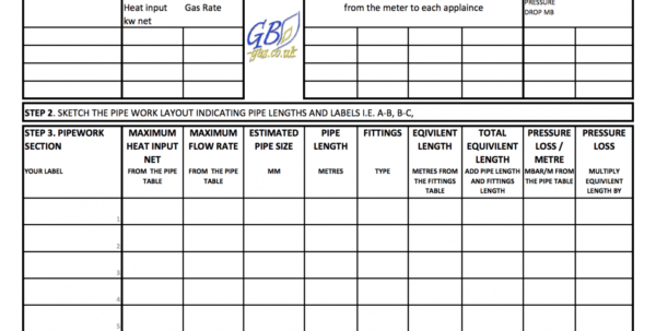 Pipe Heat Loss Spreadsheet Within Sheet Natural Gas Pipe Sizing Spreadsheet Plumbing Ebook2 Chart