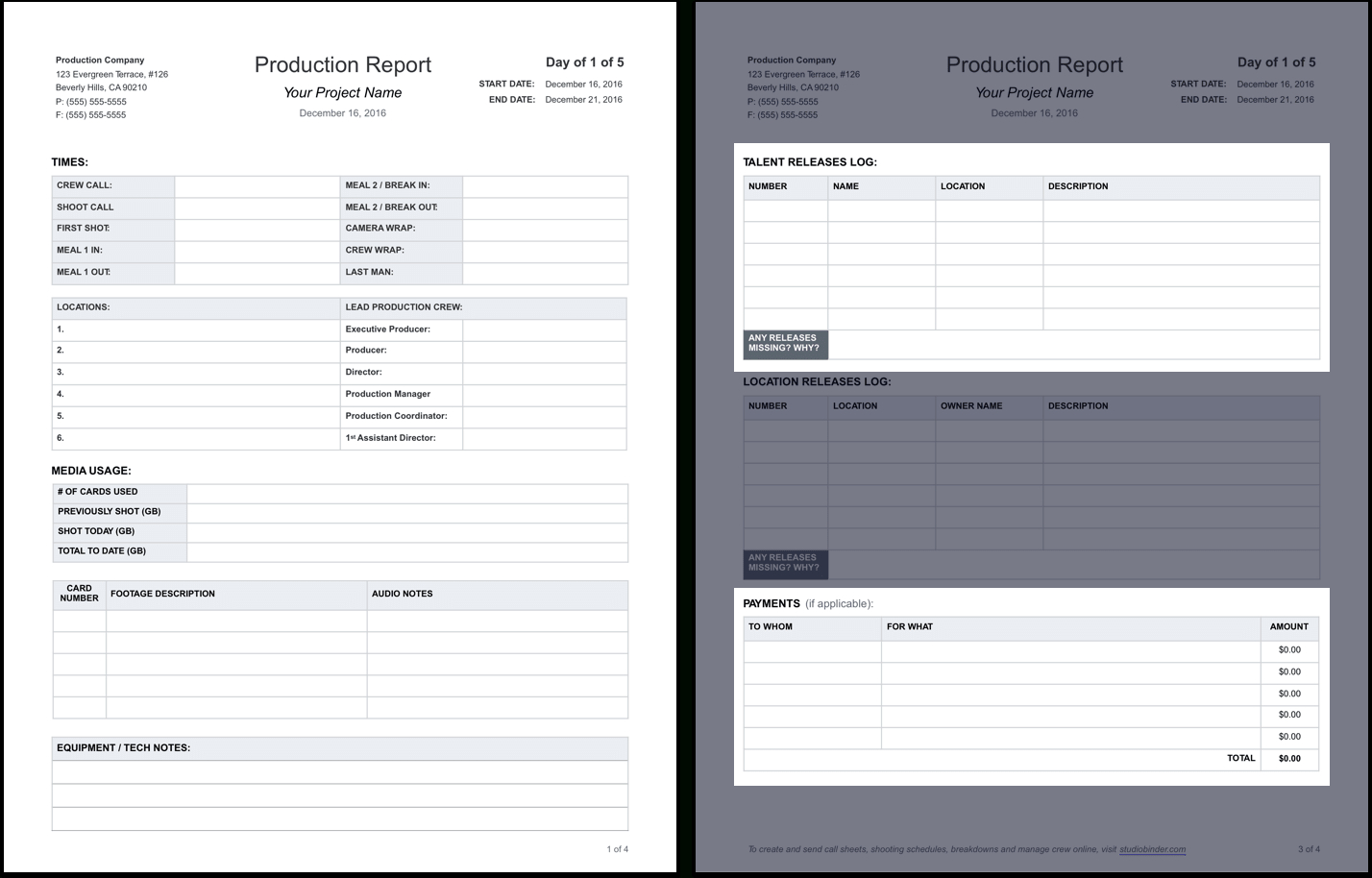 Pipe Tally Spreadsheet For The Daily Production Report, Explained With Free Template