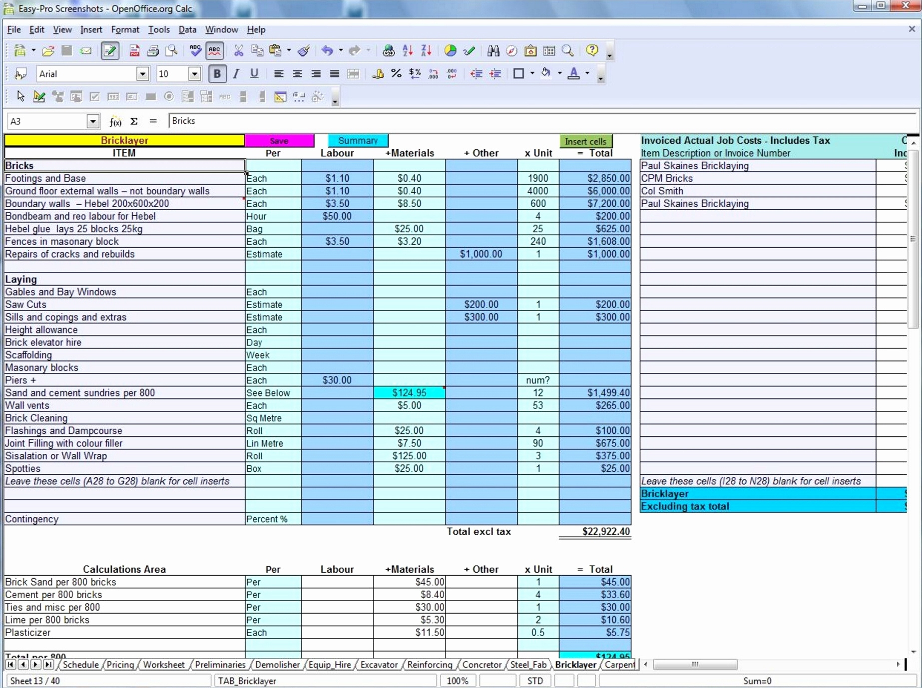 Piping Estimating Spreadsheet For Pipe Welding Estimating Spreadsheet Free Spreadsheet Spreadsheet For