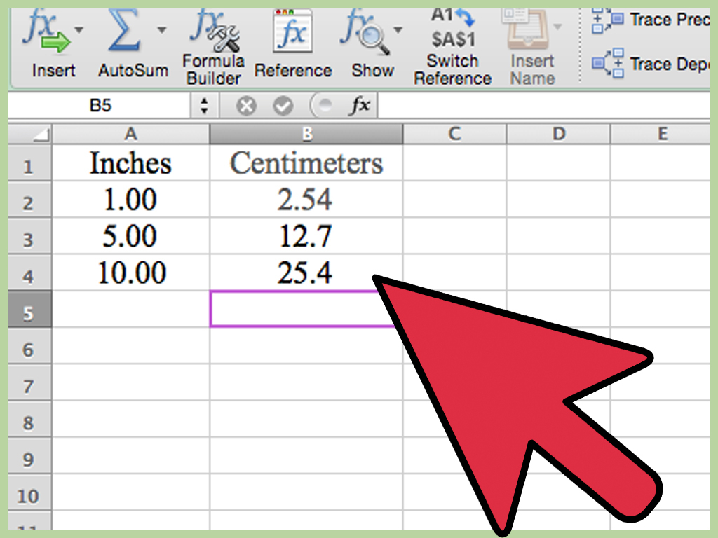 Pixel Spreadsheet Converter With Regard To 3 Ways To Convert Measurements Easily In Microsoft Excel  Wikihow
