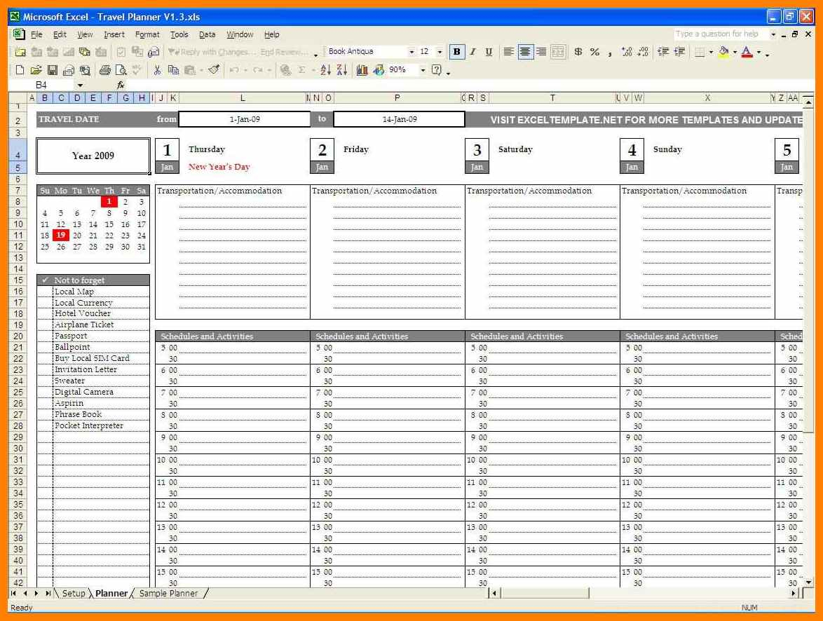 Planning Spreadsheet Template With Regard To 7+ Travel Planning Spreadsheet Template  Credit Spreadsheet