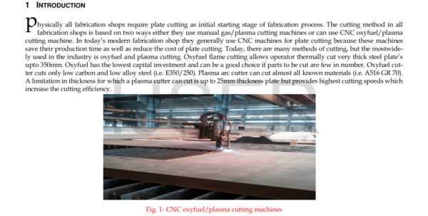 Plasma Cutting Cost Spreadsheet Throughout Pdf Plasma Arc Cutting Cost