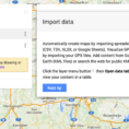 "Plot Locations On Google Maps From Spreadsheet Pertaining To How To Update Google ""my Maps"" When Spreadsheet Data Changes?  Web"