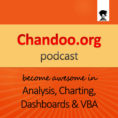 Pm Podcast Episode Spreadsheet Regarding Chandoo Podcast  Become Awesome In Data Analysis, Charting