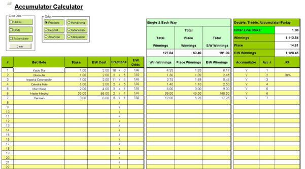 Poker Odds Spreadsheet Pertaining To Powerball History Spreadsheet  Homebiz4U2Profit