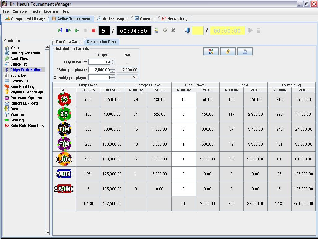 poker knockout tournament calculator