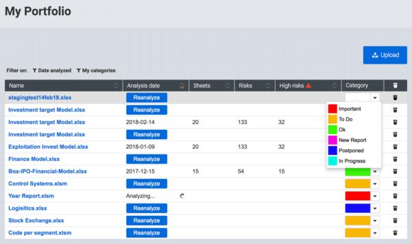 Portfolio Spreadsheet For General Spreadsheet Characteristics :: Features :: Perfectxl