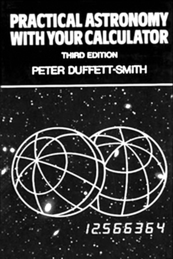Practical Astronomy With Your Calculator Or Spreadsheet Pertaining To Practical Astronomy With Your Calculator Ebookpeter Duffett