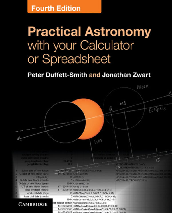 Practical Astronomy With Your Calculator Or Spreadsheet With Practical Astronomy With Your Calculator Or Spreadsheet Ebook