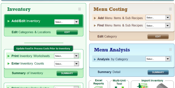 Price Volume Mix Analysis Excel Spreadsheet For Ezchef: Restaurant Inventory Management, Menu Costing And Analysis