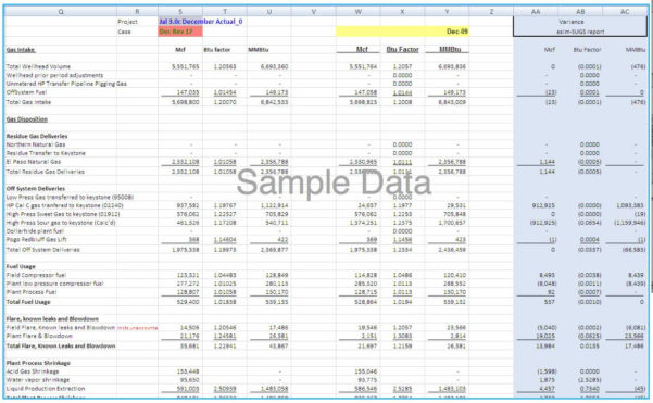 Price Volume Mix Analysis Excel Spreadsheet Intended For Managing And Optimizing Midstream Gross Margin Positions Using A