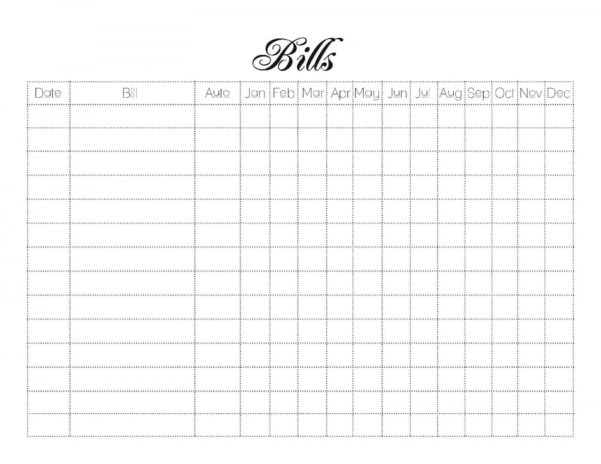 Printable Spreadsheet For Monthly Bills In 020 Template Ideas Printable Bill Organizer Spreadsheet New Monthly