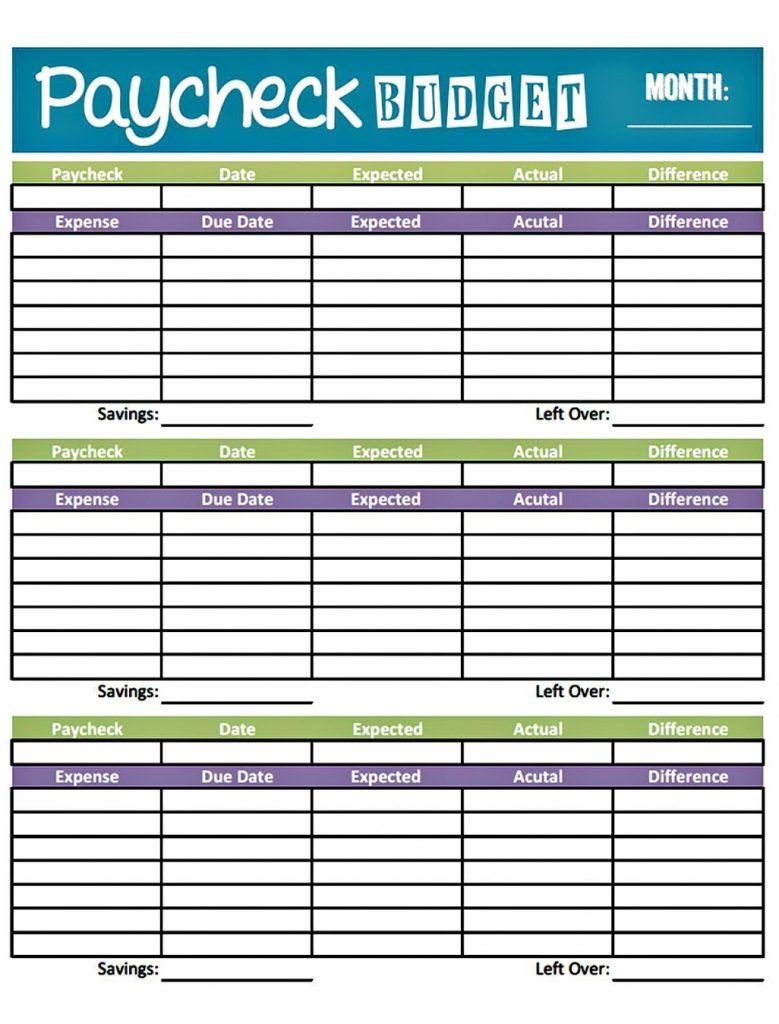 Printable Spreadsheet Paper Regarding Bi Weekly Budget Spreadsheet Design Of Budget Worksheet Printable