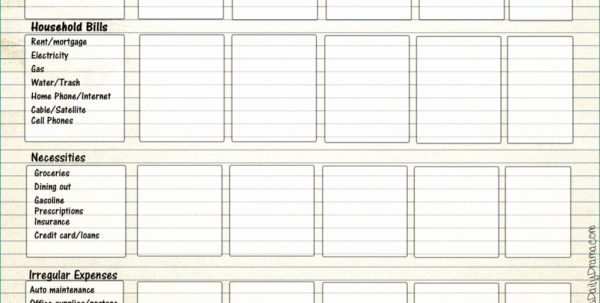 Printable Spreadsheet Pertaining To Superb Printable Spreadsheet Template – Heritageacresnutrition
