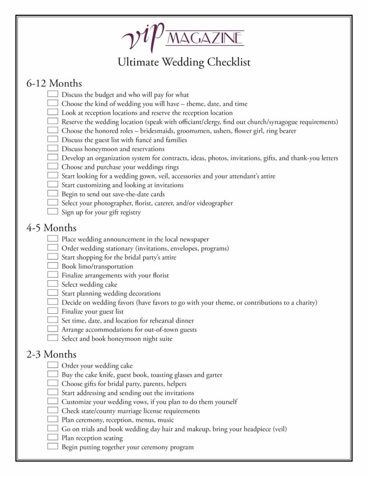 Printable Wedding Budget Spreadsheet Within Printable Wedding Budget Spreadsheet Fresh Wedding Checklist On