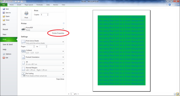 Printing Excel Spreadsheets Inside Printing  How To Print An Excel Spreadsheet As Grayscale?  Super User