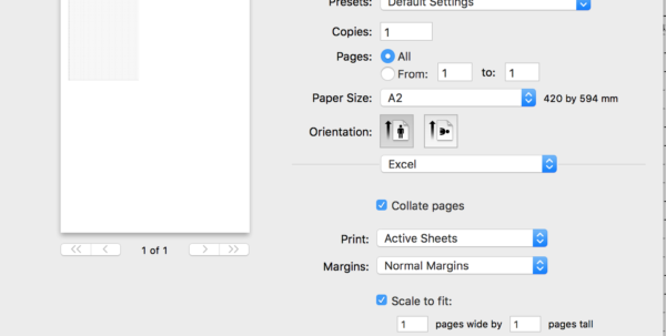 """Printing Excel Spreadsheets Throughout How To """"print"""" Excel Sheet On Custom Page Size Like Din A1?  Stack"""