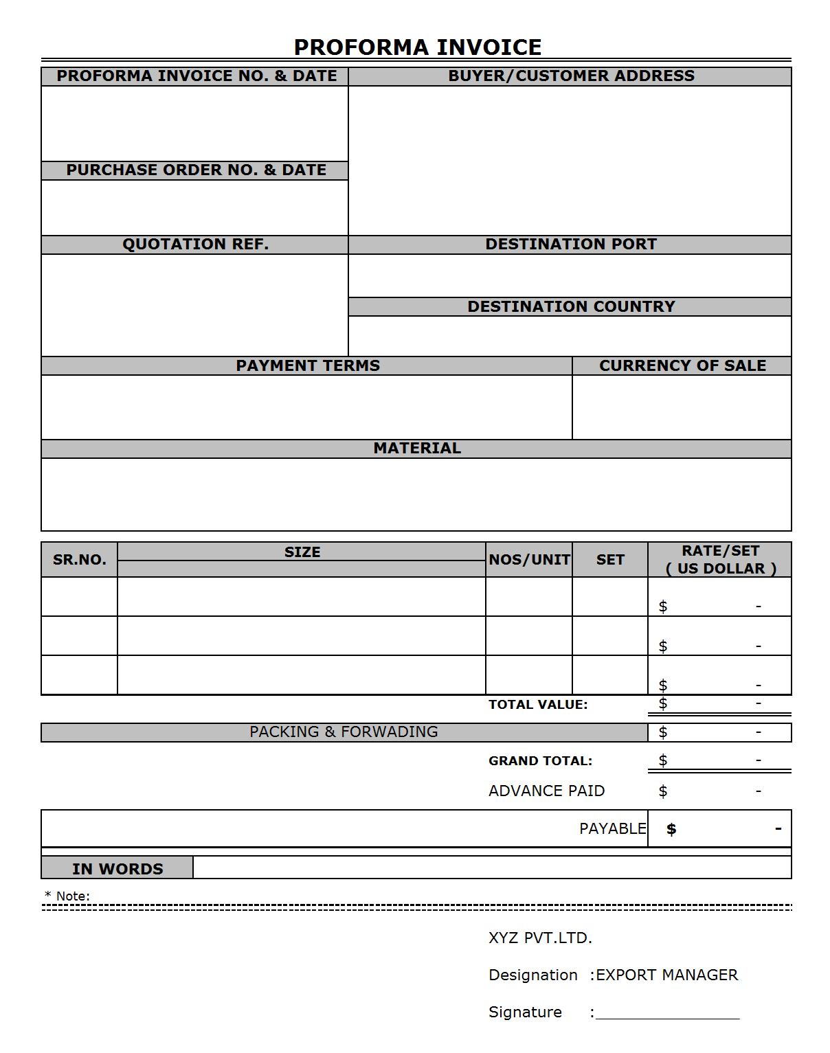 Pro Forma Spreadsheet Within Proforma P L  Rent.interpretomics.co