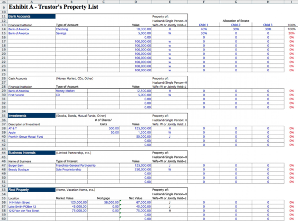 Probate Spreadsheet Template For 027 Probate Spreadsheet Inspirational Accounting Template Excel New