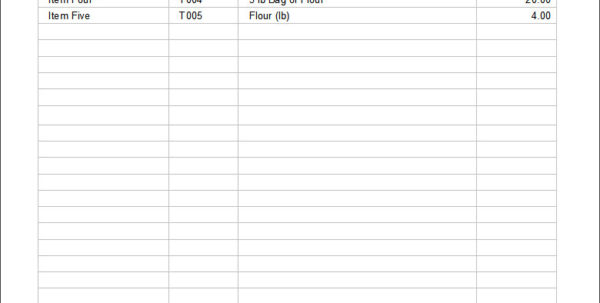 Product Pricing Spreadsheet Intended For 25  Price List Templates  Doc, Pdf, Excel, Psd  Free  Premium