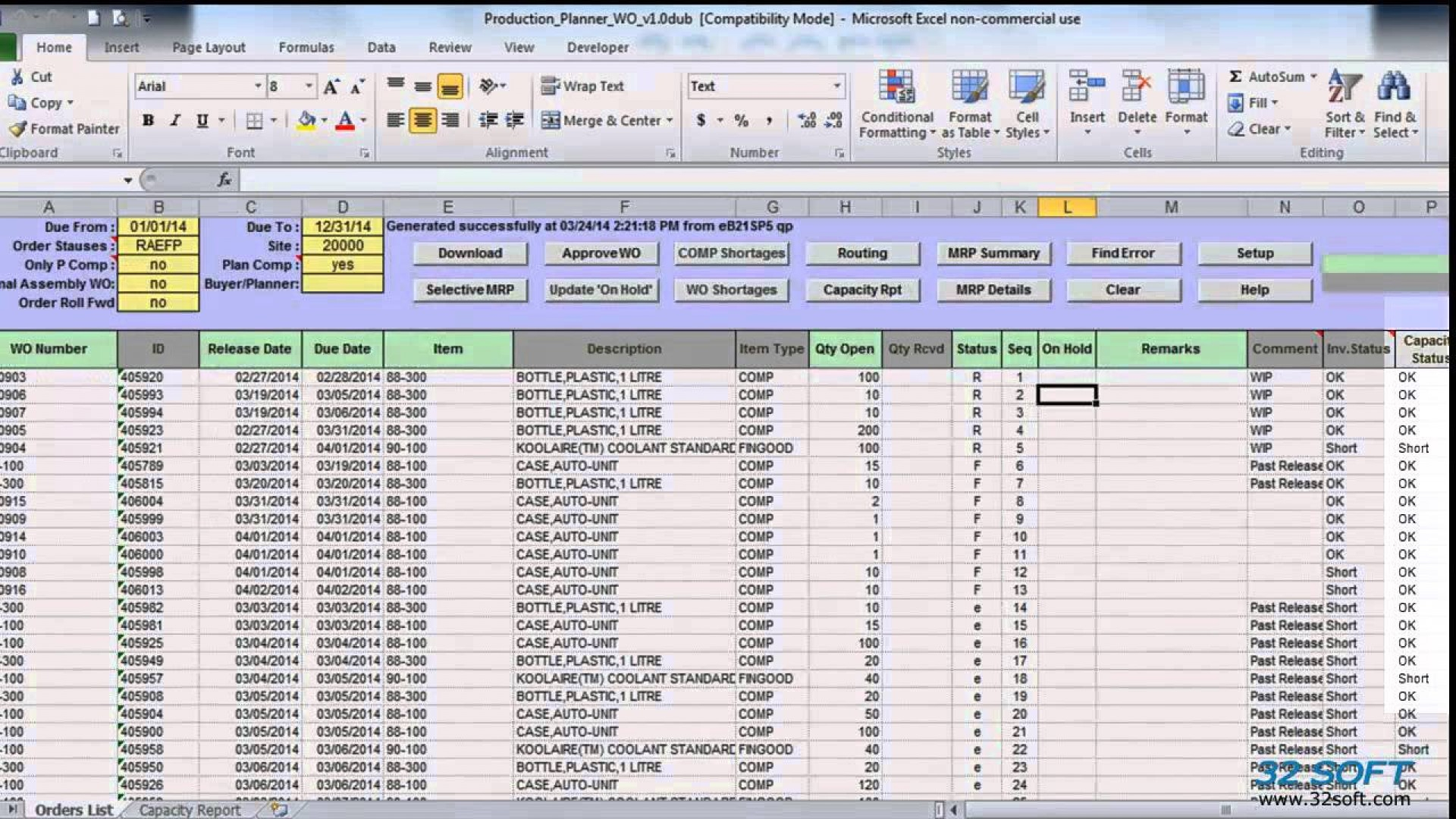 Production Planning Spreadsheet Template In 021 Production Scheduling Excel Schedule Template ~ Ulyssesroom