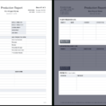 Production Tracking Spreadsheet Template With Regard To The Daily Production Report, Explained With Free Template