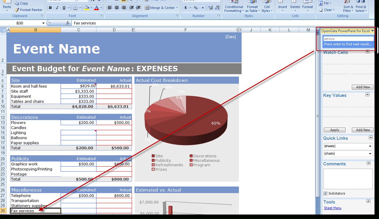 Professional Excel Spreadsheets Pertaining To Excel 2007 And 2010 Addin That Helps You Work Faster And Create