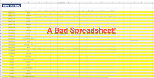 Professional Excel Spreadsheets Pertaining To How To Make Your Excel Spreadsheets Look Professional In Just 12 Steps