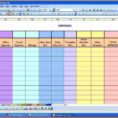 Professional Spreadsheet Intended For 4  Monthly Expenses Spreadsheet  Professional Email For Monthly
