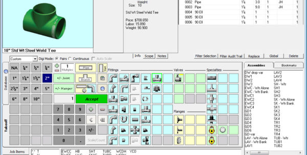 Professional Spreadsheet With Plumbing Material Spreadsheet Building Estimating Software