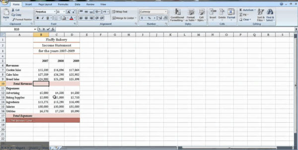 Profit And Loss Statement Excel Spreadsheet Intended For Daily Income And Expense Excel Sheet  Resourcesaver