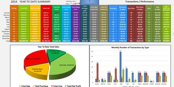 Profit Spreadsheet Throughout Myprofits2.0  Ebay And Amazon Sales And Profit Tracking Spreadsheet