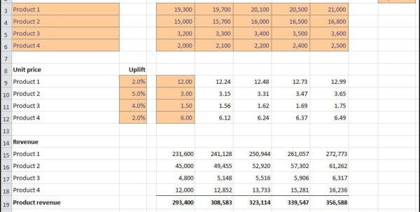 Projection Spreadsheet With Revenue Projections Calculator  Plan Projections Projection Spreadsheet Google Spreadsheet