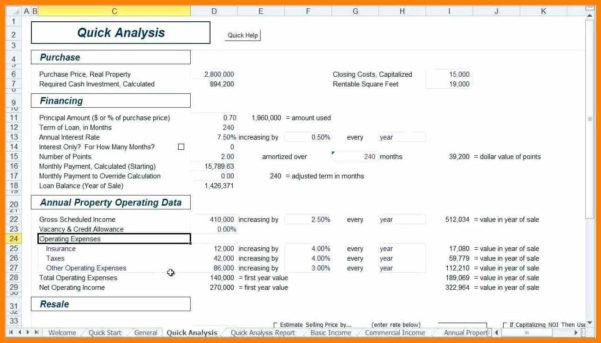Property Development Cash Flow Spreadsheet Regarding 9  Property Development Spreadsheet  Credit Spreadsheet