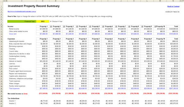 Property Development Spreadsheet Template In Free Rental Property Management Spreadsheet In Excel