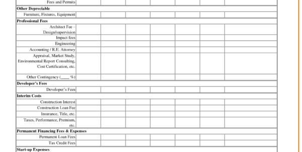 Property Development Spreadsheet Template Pertaining To Property Management Spreadsheet And Profit And Loss Spreadsheet
