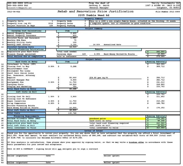 Property Evaluation Spreadsheet With Regard To Property Analysis Worksheet Short Form  Ultimate Bargains – Real